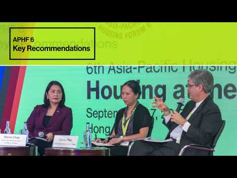 Asia-Pacific Housing Forum 6 Highlights