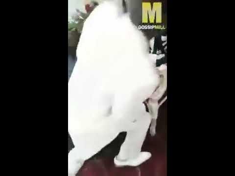 SMH: Church members lick and kiss their pastors shoe in church! thumbnail
