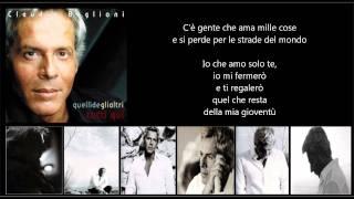 CLAUDIO BAGLIONI - Io che amo solo te
