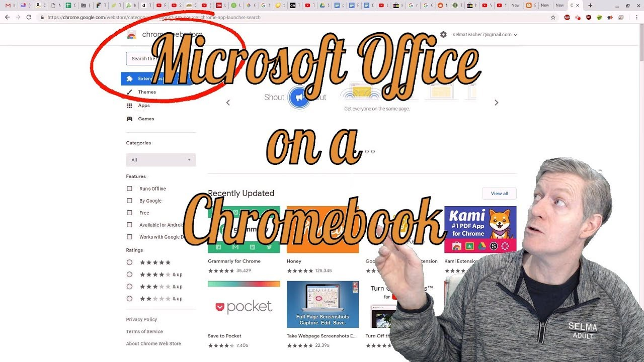 Microsoft Office on Chromebooks, Working offline, comparing Google Docs &  Word, Excel & Sheets, more