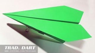 Come fare un aeroplano di carta che vola   Traditional Dart