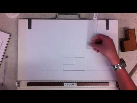 Orthographic Drawing lesson 1