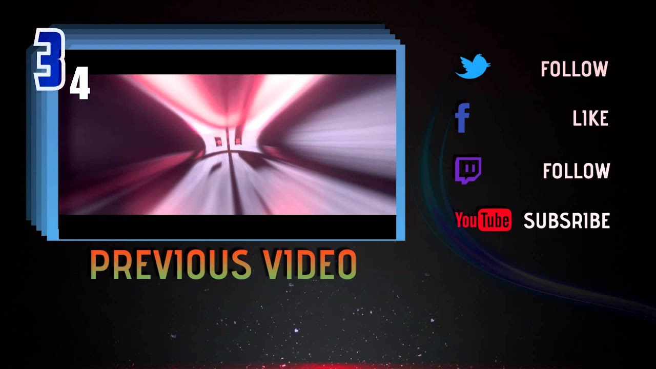 top 5 still outro templates 2017 free download sony vegas youtube