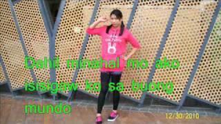 Dahil minahal mo ako by sarah Geronimo with lyrics