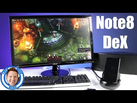 Samsung DeX Note8 Enhancements and Features