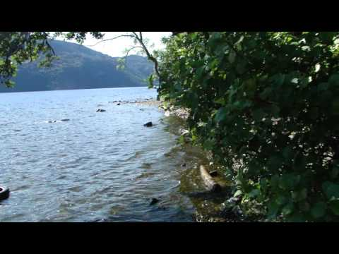 Loch Ness(Lake) travelling from Inverness to Fort August. Scotland  Route 82 Video 2/2