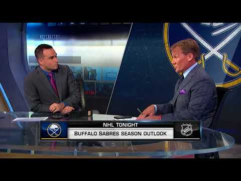NHL Tonight:  Sabres Outlook:  Buffalo looks to bounce back after sub-par season  Aug 6,  2018