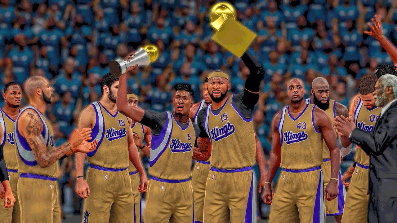THE PERFECT SHOOTING GAME : NO MISSED SHOTS | NBA FINALS GAME 4 SWEEP | NBA 2k16 MyCareer - YouTube