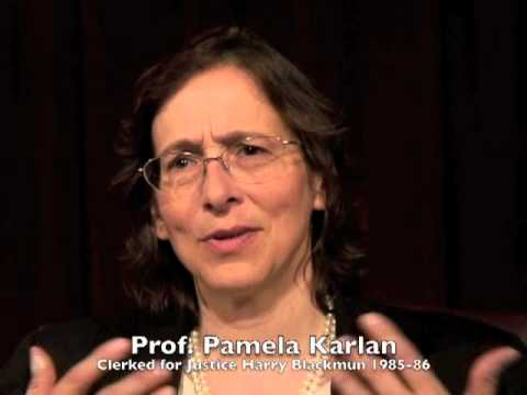 Prof. Pamela Karlan (2012) on Justice Harry Blackmun