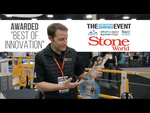 "Awarded ""Best of Innovation"" from Stone World Magazine and TISE 2020"