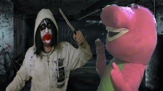 Jeff The Killer Vs Barney The Dinosaur