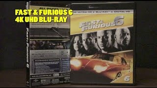 Fast & Furious 6 4K Bluray Review | Unboxing | DTS-X