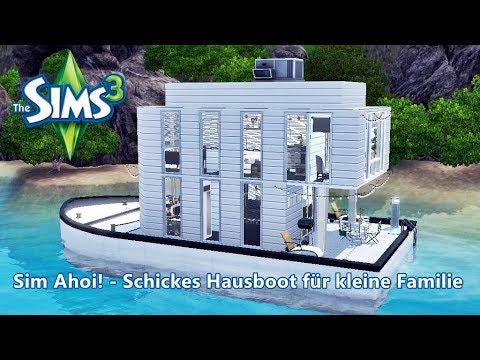 Sims 3 Lets Build Hausboot Bauen Sim Ahoi Schickes