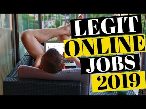WORK FROM HOME JOBS LEGITIMATE ONLINE JOBS 2019