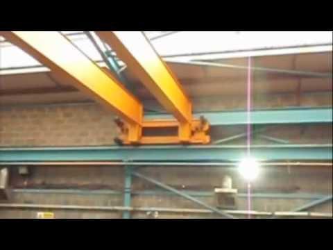 Crane Jumps Gantry By Insightuk