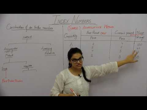 Index Numbers _ Part3 _ Construction of an Index Number _ Shubhi Chhabra
