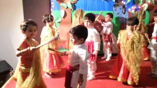 Song Aaj Radha Ko Shyam Yaad Aa Gaya- The Nurtuary Preschool -Nursery