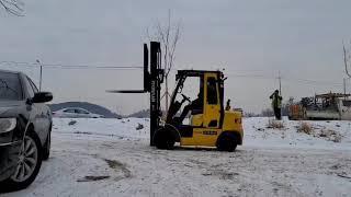 현대 포렉스 2.5톤 싸이드쉬프트 디젤지게차