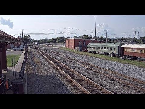 Russellville, Arkansas - Virtual Railfan LIVE (DEMO)