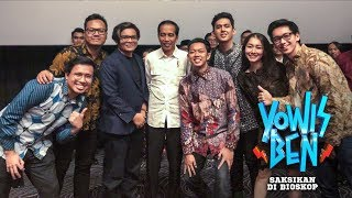 Video Presiden Jokowi nonton Yowis Ben di Malang - GERRR! download MP3, 3GP, MP4, WEBM, AVI, FLV Juli 2018