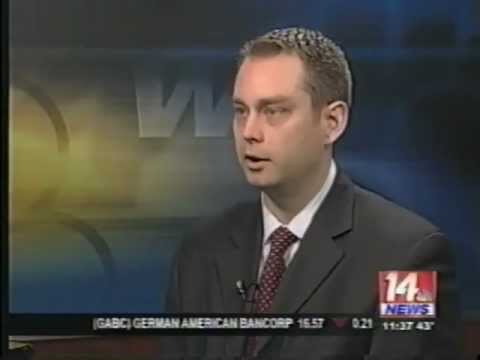 Evansville Personal Injury Lawyer - Lane Siesky on 14 News - Semi-Truck Accidents