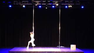 2018 US Pole Dance Championship Professional Division - Tilly Erikson