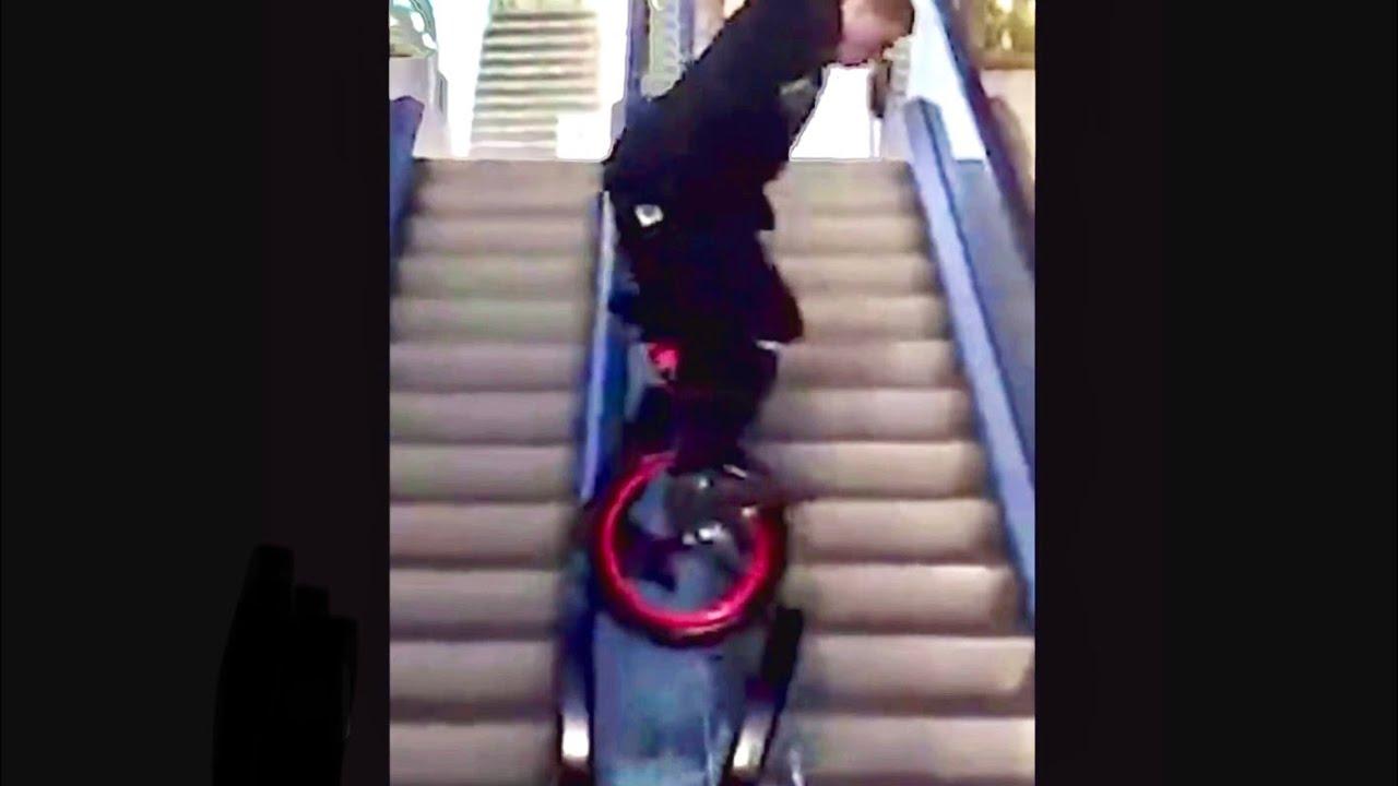 Download Breaks the glass of escalator l Epic Fail  part 2️⃣0️⃣