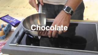 VIDEO DEMO Induction cooker