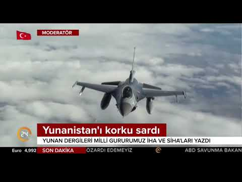 Yunan askeri dergileri Türkiye'nin başarılarını yazdı