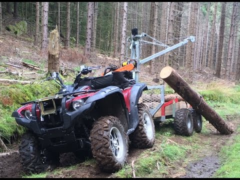 Logging with Yamaha Grizzly 700