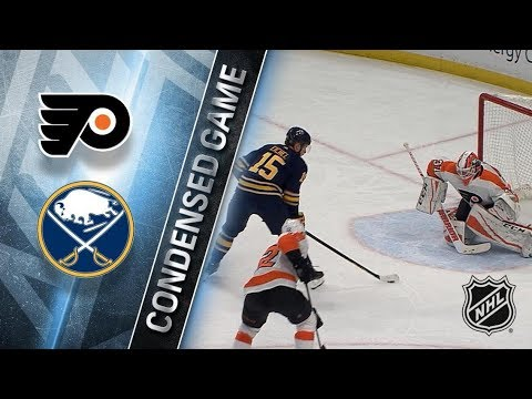 Philadelphia Flyers vs Buffalo Sabres – Dec. 22, 2017 | Game Highlights | NHL 2017/18. Обзор матча