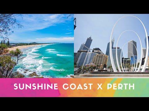 DESAFIO DAS CIDADES: #SUNSHINE COAST X #PERTH Feat CASAL NA GRINGA - Parte 2