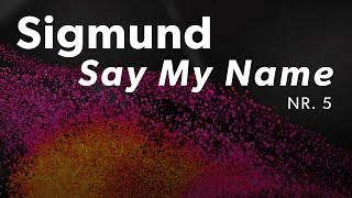 Sigmund - Say My Name | Dansk Melodi Grand Prix 2019 | DR1