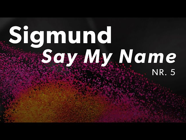 Sigmund - Say My Name | Dansk Melodi Grand Prix 2019 | DR1