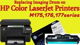 Imaging drumhow to change toner