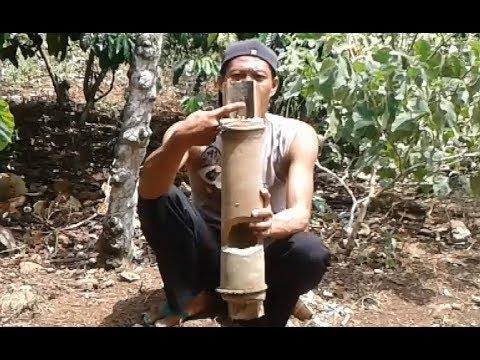 Cara paling jitu agar Burung kacer liar tidak punah cukup dengan membuat gentongan bambu