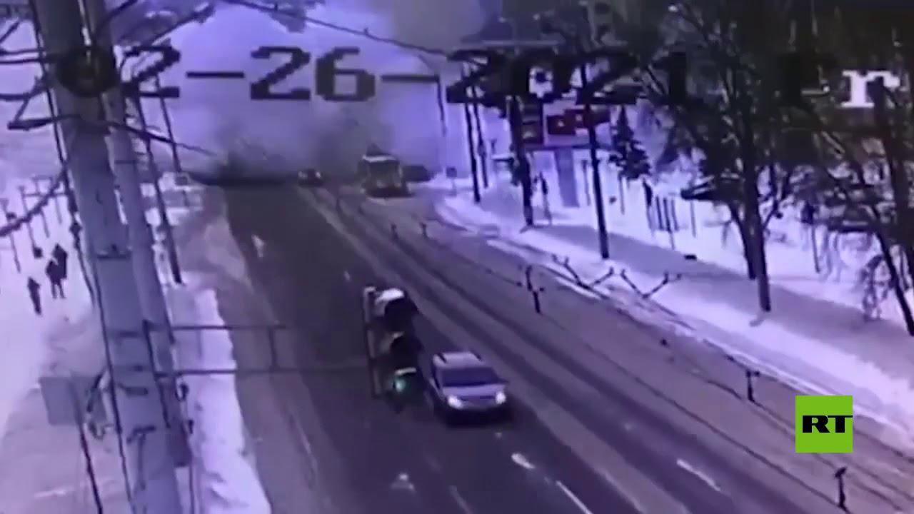 كاميرات تسجل لحظة انفجار في نيجني نوفغورود  - نشر قبل 34 دقيقة