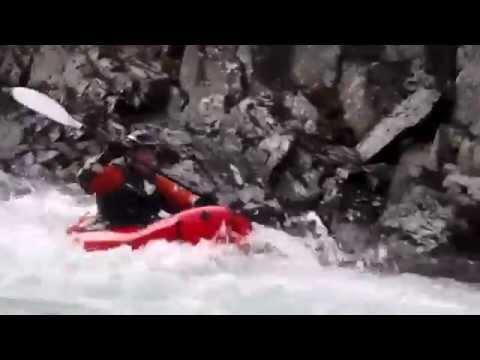 Six Mile Creek Alaska Alpacka Packrafts & Kayaks Class 5 Rapids