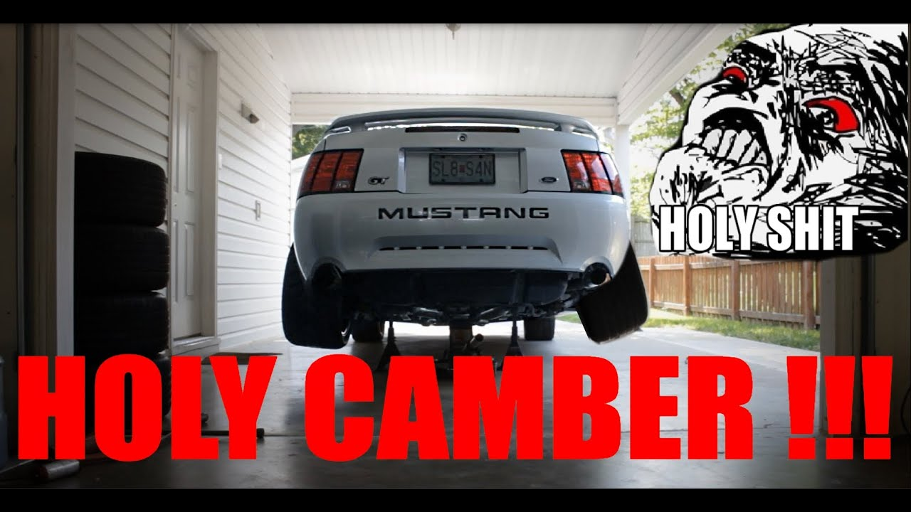 Crazy Camber Installing Xxr 531 Wheels On Mustang Youtube