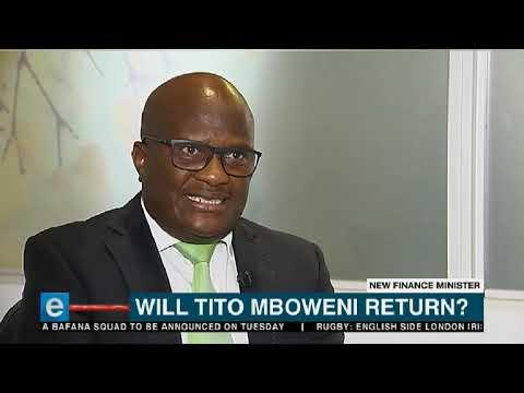 Will Tito Mboweni return as SA Finance Minister