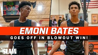 Emoni Bates GOES OFF in 50 Point Win on the road! 😈