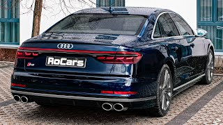 Audi s8 (2020) - interior, exterior and sound engine: v8, 4.0 l, 571 hp, 800 nm perfomance: 0-100 (km/h): 3.8 s top speed: 250 km/h base price: € 140.600 mus...
