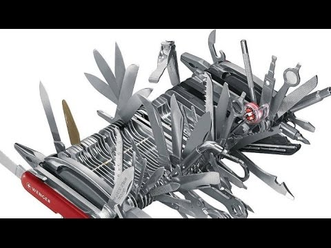 Victorinox Swiss Army Knives - Not Best Knives? - Megafactories Documentary