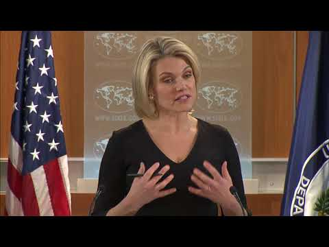 Department Press Briefing - December 12, 2017