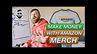 Make Money With Merch By Amazon Get Paid To Design T Shirts