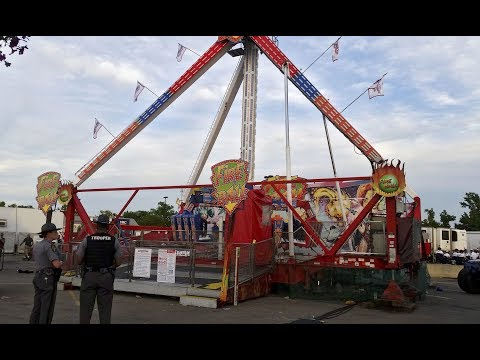 Ohio State Fair Ride Leaves On is listed (or ranked) 1 on the list The Worst Amusement Park Ride Accidents