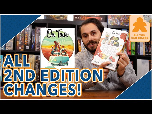 On Tour 2nd Edition | EVERYTHING That's Changed (And NEW) in the UPDATED Version!