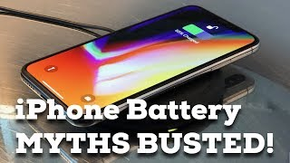How to get BETTER iPhone BATTERY LIFE