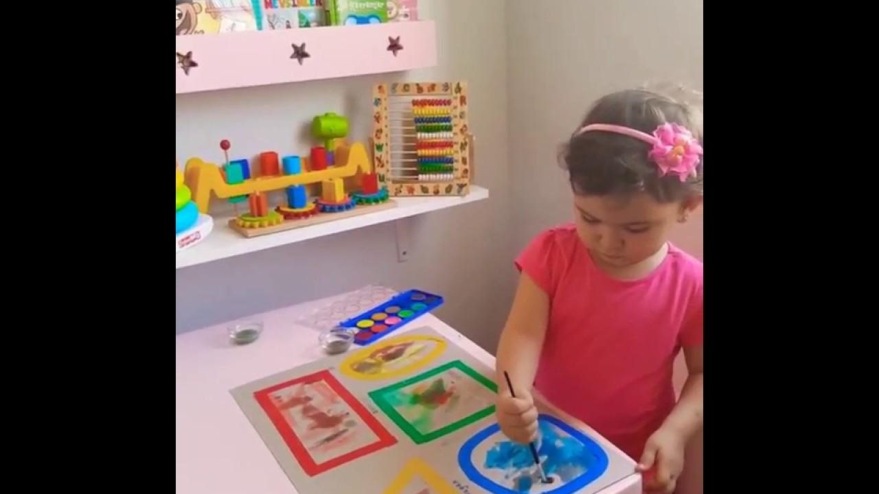 Dila öztürk Ile Okul öncesi Etkinlik Sınırlı Alan çalışması