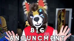 MY BIGGEST ANNOUNCEMENT EVER